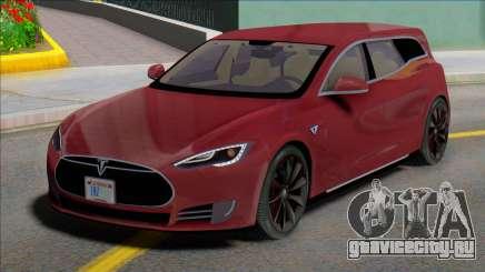 Tesla Model S Wagon для GTA San Andreas