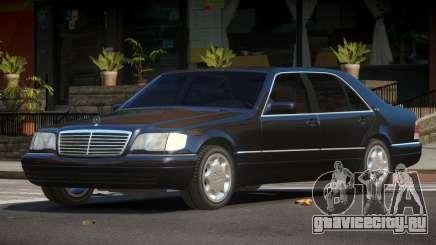 Mercedes Benz S600 LS для GTA 4