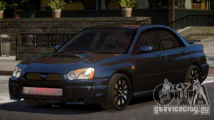 Subaru Impreza WRX BS для GTA 4