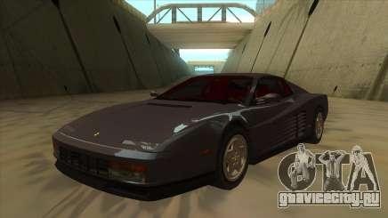 Ferrari Testarossa 1984 для GTA San Andreas