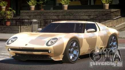 Lamborghini Miura SC PJ2 для GTA 4