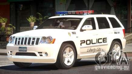 Jeep Grand Cherokee Police V1.0 для GTA 4