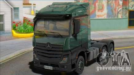 Mercedes-Benz Actros mp4 6х4 для GTA San Andreas
