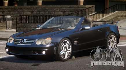 Mercedes Benz SL65 SR для GTA 4