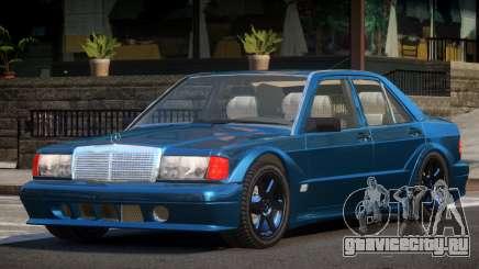 Mercedes Benz 190E RT для GTA 4