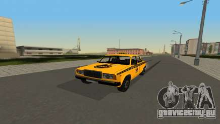 ВАЗ 2107 Taxi для GTA San Andreas