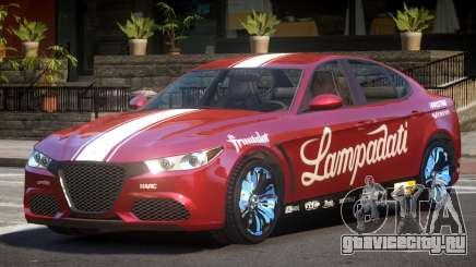 Lampadati Komoda PJ6 для GTA 4