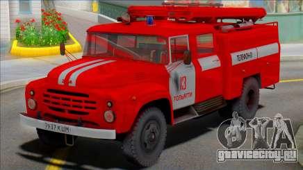 Автоцистерна пожарная  АЦ-40(130)-63Б для GTA San Andreas