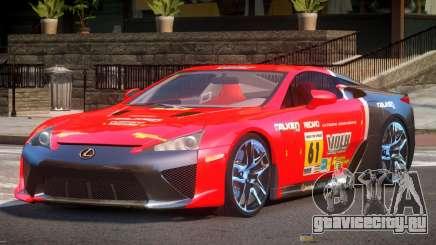 Lexus LFA Nurburgring Edition PJ6 для GTA 4