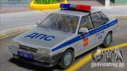 ВАЗ 21099 Милиция ДПС для GTA San Andreas