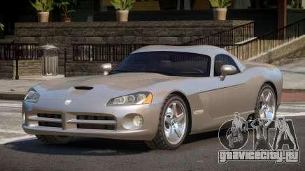 Dodge Viper ZT для GTA 4