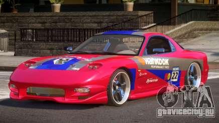 Mazda RX-7 F-Tuning PJ3 для GTA 4