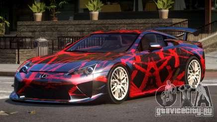 Lexus LFA RT PJ5 для GTA 4