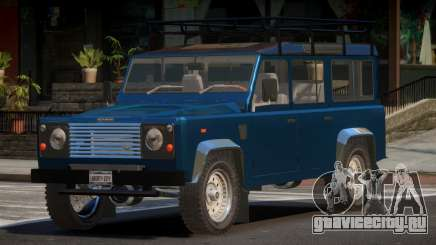 Land Rover Defender V1.1 для GTA 4