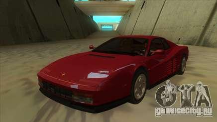 Ferrari Testarossa 1986 для GTA San Andreas