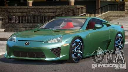 Lexus LFA Nurburgring Edition для GTA 4