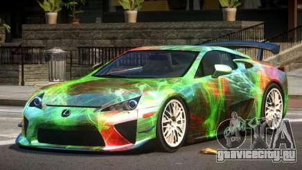Lexus LFA RT PJ3 для GTA 4