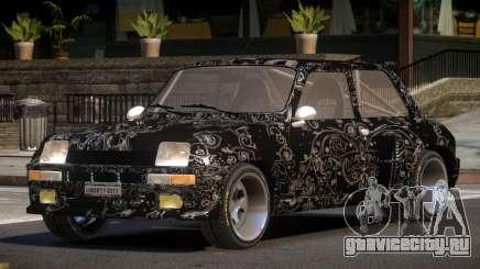 Renault 5 RS PJ4 для GTA 4
