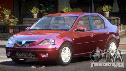 Dacia Logan V1.6 для GTA 4