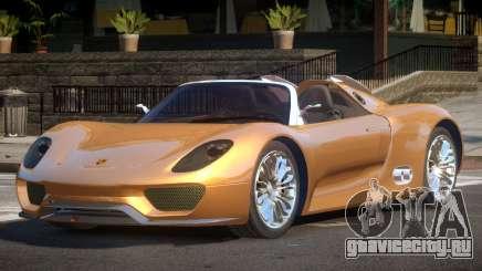 Porsche 918 GT SR для GTA 4