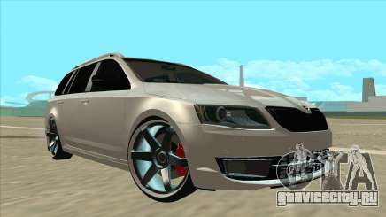 Skoda Octavia A7 Combi Silver для GTA San Andreas