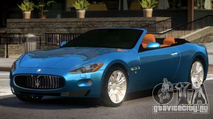 Maserati GranCabrio SR для GTA 4