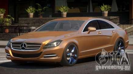 Mercedes Benz CLS 350 BS для GTA 4