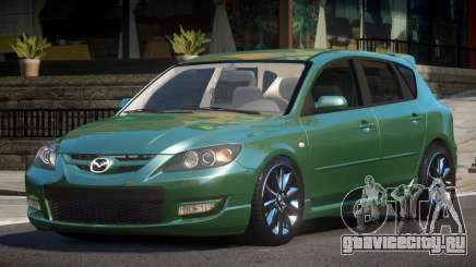 Mazda 3 HK для GTA 4