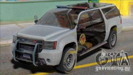 2007 Chevrolet Suburban Police для GTA San Andreas