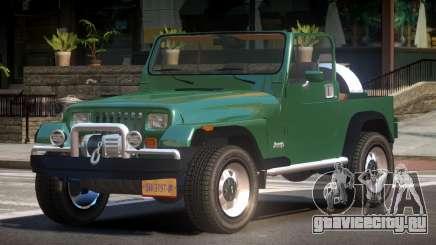 Jeep Wrangler TR для GTA 4