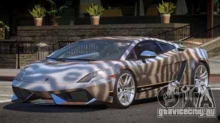 Lamborghini Gallardo GST PJ4 для GTA 4