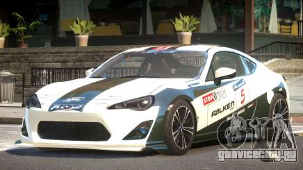 Subaru BRZ GT Sport PJ6 для GTA 4