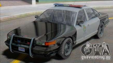 GTA V-ar Vapid Stanier Cop для GTA San Andreas