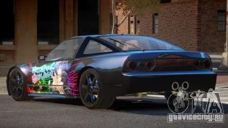 Nissan 240SX GS L6 для GTA 4