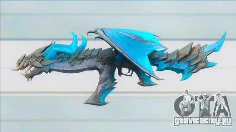 Ak47 Devil Dragon - Garena Free Fire для GTA San Andreas