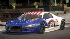 2010 Audi R8 LMS PJ2 для GTA 4