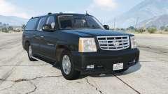Cadillac Escalade ESV (GMT800) Unmarked [ELS] для GTA 5