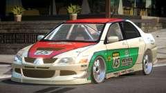 Mitsubishi Lancer Drift PJ10 для GTA 4