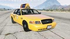 Ford Crown Victoria Taxi для GTA 5
