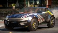 Lagoon Car from Trackmania 2 PJ3 для GTA 4