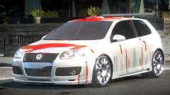 Volkswagen Golf GTI Drift PJ1 для GTA 4