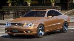 Mercedes Benz CLK55 GST для GTA 4