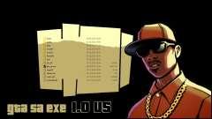GTA SA EXE 1.0 US оригинальная версия файла gta_sa.exe для GTA San Andreas