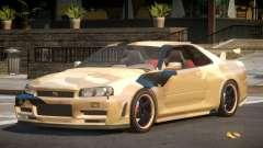 Nissan Skyline R34 GS PJ8 для GTA 4