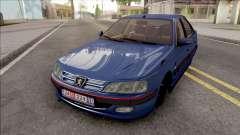 Peugeot Pars Blue для GTA San Andreas