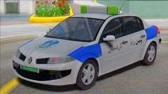 Renault Megane Police для GTA San Andreas