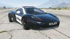 McLaren MP4-12C Hot Pursuit Police для GTA 5