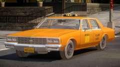 1985 Chevrolet Impala Taxi для GTA 4