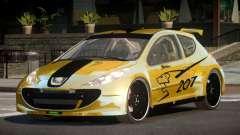 Peugeot 207 RT для GTA 4