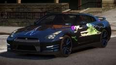 Nissan GT-R GST L6 для GTA 4